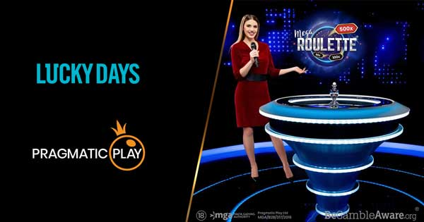Pragmatic Play sees its Live Casino offering available with LuckyDays