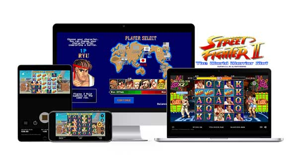 NetEnt on for another branded smash hit with Street Fighter II: The World