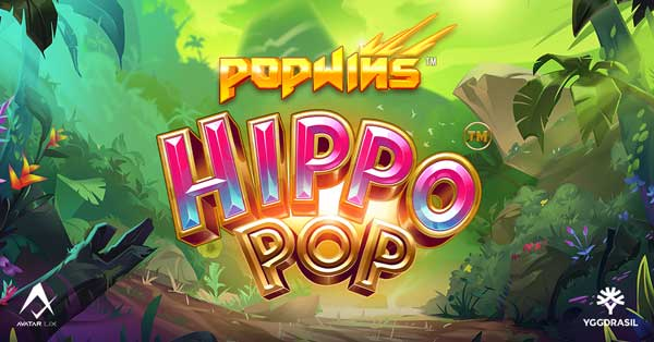 Yggdrasil and AvatarUX launch psychedelic slot HippoPop™