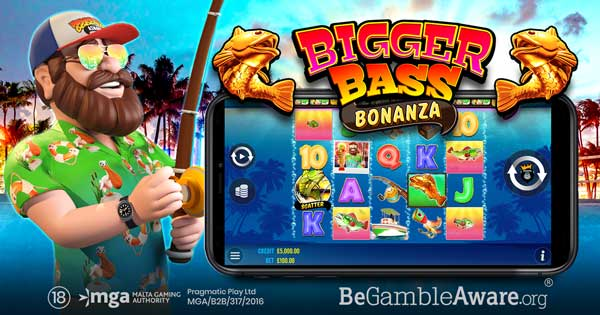 Pragmatic Play heads up to deep waters in Bigger Bass Bonanza