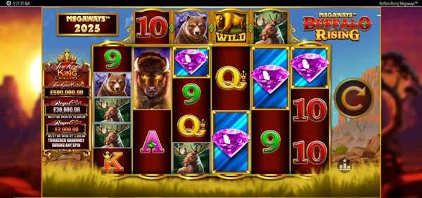 Buffalo Rising Megaways™ joins Blueprint Gaming's Jackpot King portfolio