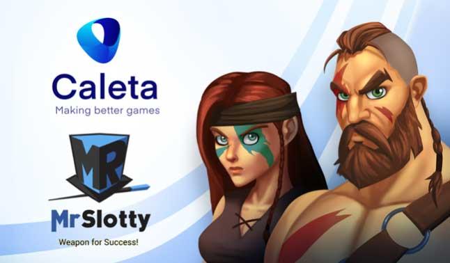 Caleta Gaming strikes MrSlotty GameHub content partnership