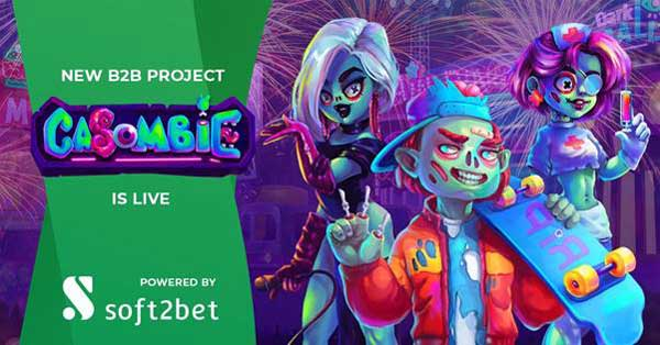 Soft2Bet goes live with undead-themed casino Casombie