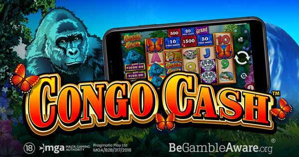 Pragmatic Play delivers a wild jungle adventure in latest slot Congo Cash