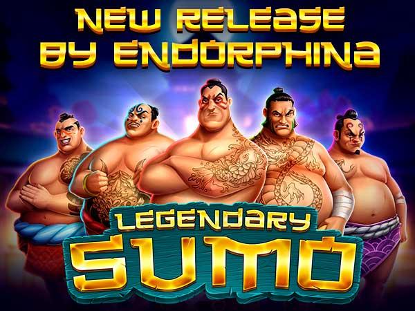 Unleash your fighting spirit in Endorphina's Legendary Sumo