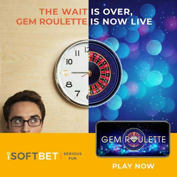iSoftBet unveils high-class table game Gem Roulette