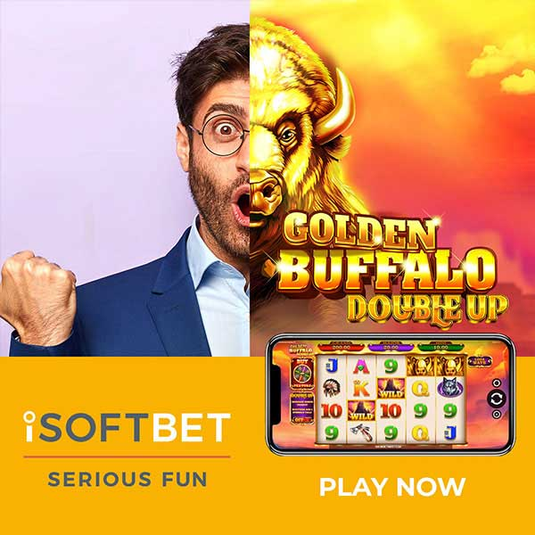 iSoftBet prepares for stampede of wins in Golden Buffalo Double Up