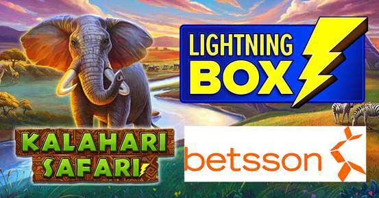 Get ready for an African adventure with Lightning Box's Kalahari Safari