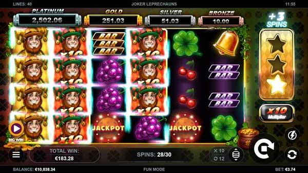 Kalamba Games' Joker Leprechauns promises pots of gold