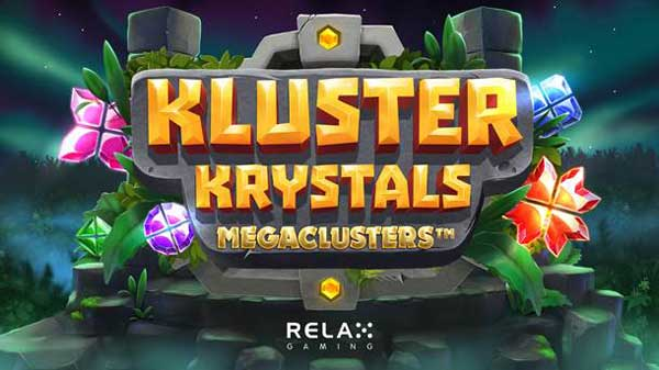Relax Gaming shines with Kluster Krystals Megaclusters™