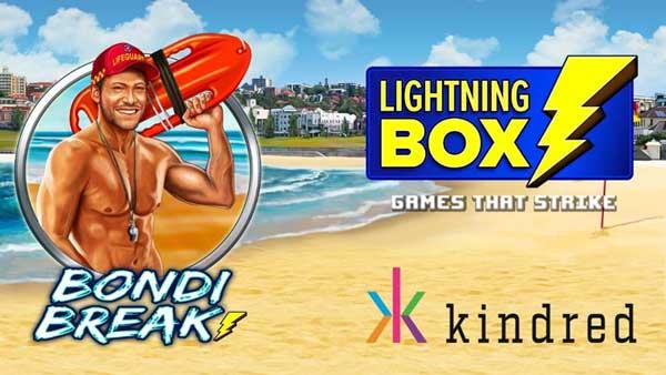 Take a trip a Down Under with Lightning Box's Bondi Break