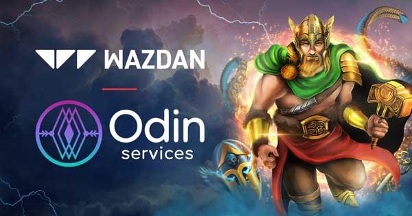 Wazdan content live on Odin Services brands