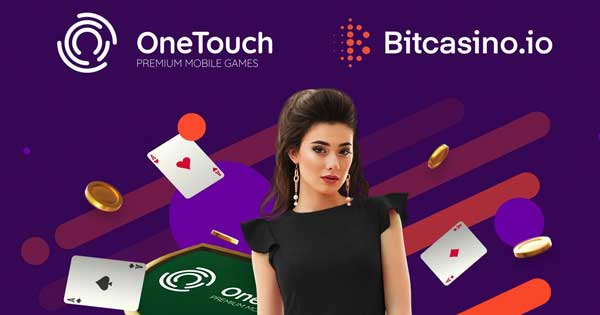 OneTouch pens key agreement with Bitcasino