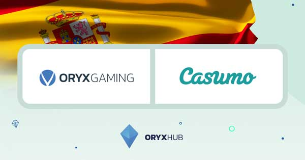 ORYX Gaming extends reach in Spain with Casumo