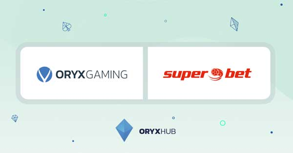 ORYX Gaming secures deal with Superbet in Romania