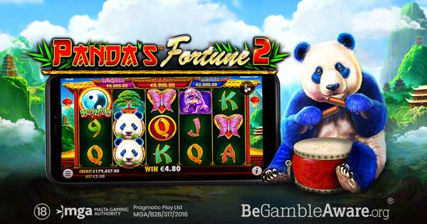 Pragmatic Play set for a serene adventure in Panda's Fortune 2