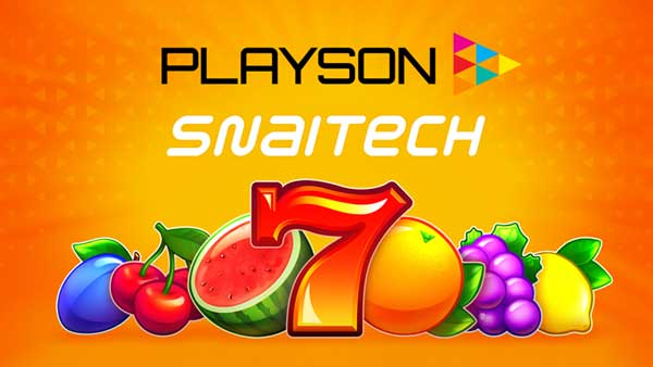 Playson inks content deal with SNAITECH