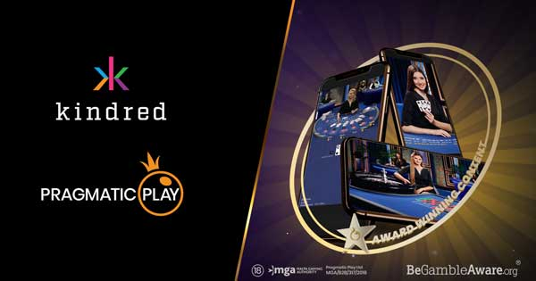Pragmatic Play hits yet another landmark live casino deal with dedicated Kindred studio