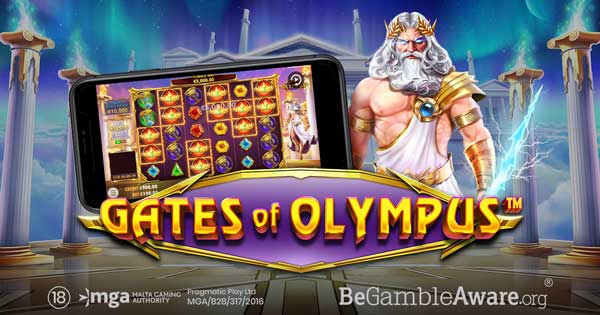Pragmatic Play aims for the heavens in Gates of Olympus