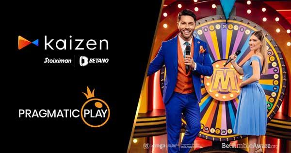 Pragmatic Play strengthens partnership with Kaizen Gaming including Live Casino