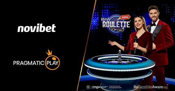 Pragmatic Play grows European Live Casino reach with Novibet