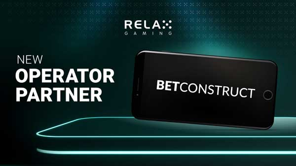 Relax Gaming to go live with BetConstruct