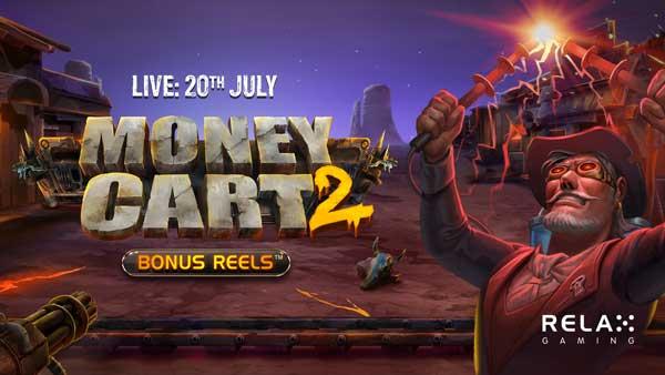 Relax Gaming releases UK exclusive MoneyCart2Bonus Reels