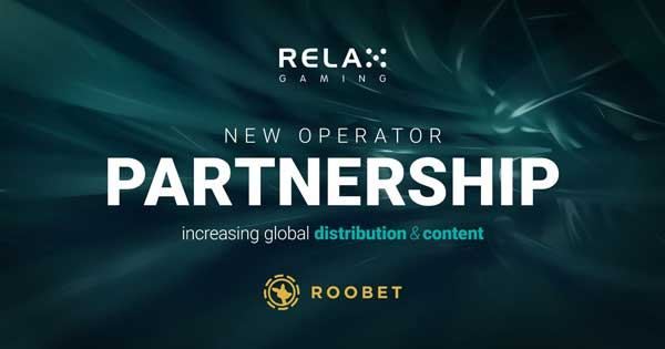 Relax Gaming inks distribution deal with Roobet