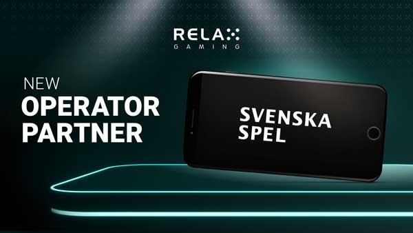 Relax Gaming enters landmark partnership with Svenska Spel