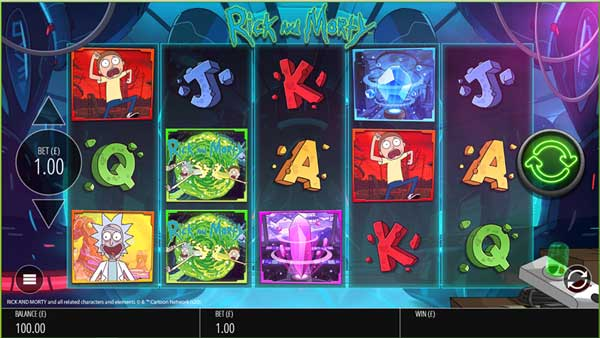 Rick and Morty™ return to the reels in Blueprint's sequel adventure slot