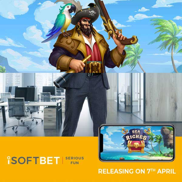 iSoftBetunveils first Cluster Pays title Sea of Riches