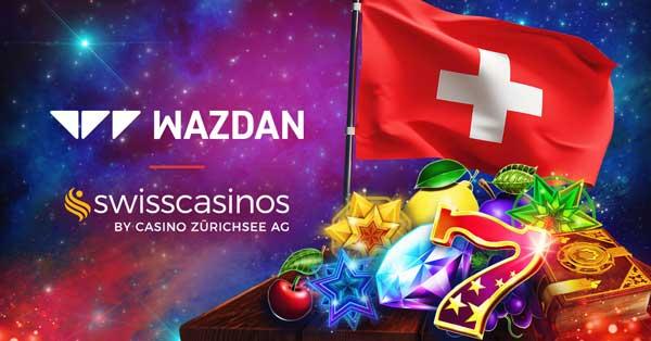 Wazdan makes Switzerland debut with Swiss Casinos