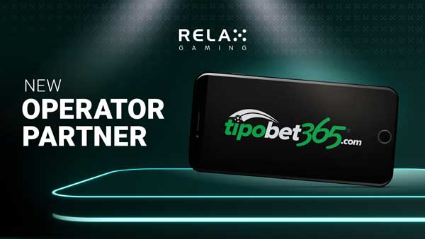 Relax Gaming teams up with Tipobet365