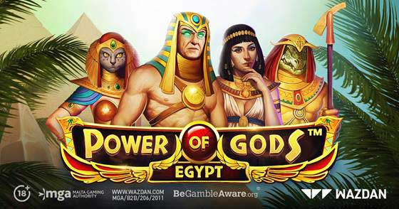 Wazdan immerses players in the ancient world of Power of Gods™: Egypt