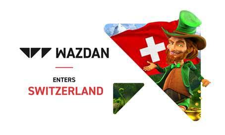 Wazdan set for Switzerland entry