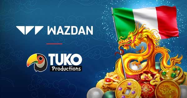 Wazdan grows Italy presence with Tuko Productions partnership